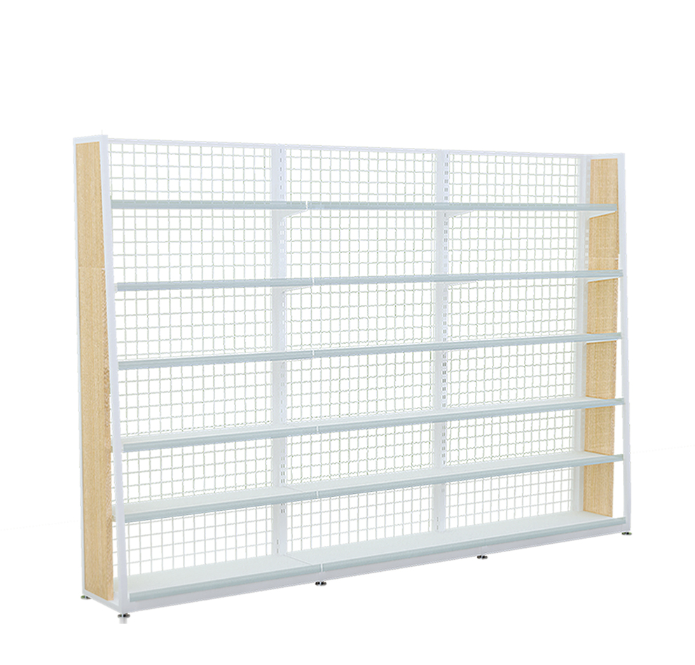 Single Side Steel Wood Rack