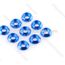 High quality M3 Aluminum countersunk washer colored