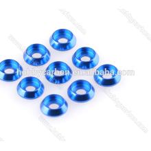 De alta qualidade M3 alumínio escareado lavador colorido