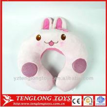 wholesale U shape pillow plush music travel pillow