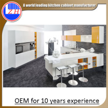 2015 China Nueva modular Laminado MDF cocina gabinetes (zhuv)