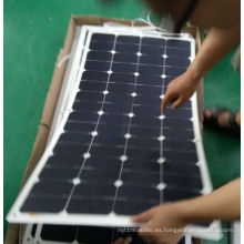 Panel solar flexible suave de 18V 160W Sunpower ETFE