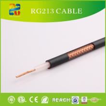 50ohm PVC Jacket Câble coaxial de haute qualité Rg213 (CE, ETL, RoHS, REACH, UL approuvé)