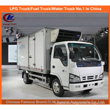 Isuzu Refrigerated Truck in 5 Tons Freezer Van Truck Themoking