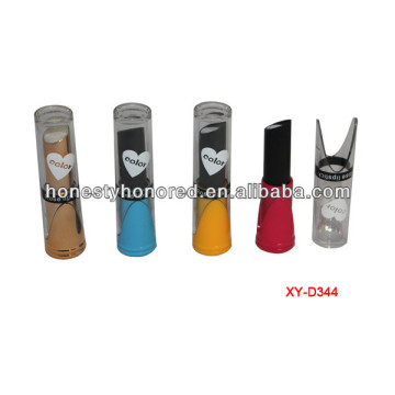 Fashion Gold Color Lipstick Container