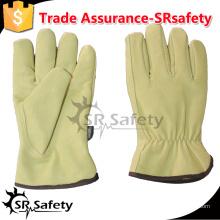 SRSAFETY сохранение тепла PIG зерно leahter перчатки, Keystone пальцы / зимой перчатки для устойчивости к холодному контакту