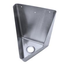 easy urinal installation stainless steel corner urinal