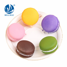 New Product Funny Squishy Macarons Cake Toy Squishy PU Fake Macaron