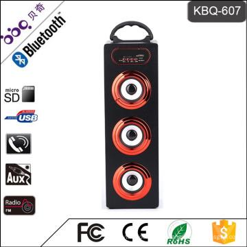 Altavoz subwoofer Bluetooth KBQ-607 15W 1200mAh para barbacoa