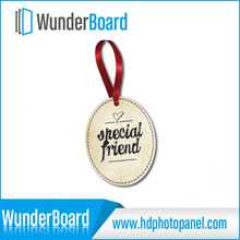 Hot Selling Sublimation Printing on Metal Ornament