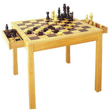 hot selling wooden chess table