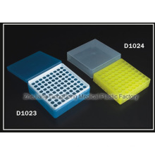 Gradilla desechable para tubos de centrifugación de 1,5 ml y dos usos