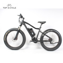 High quality front suspension fat tire snow electric bike for sale