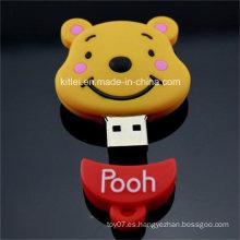 Mini lindo silicona USB puerto de papelería juguete de plástico ICTI