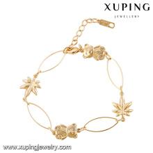 xuping alibaba wholesale saudi arabia gold jewelry bracelet