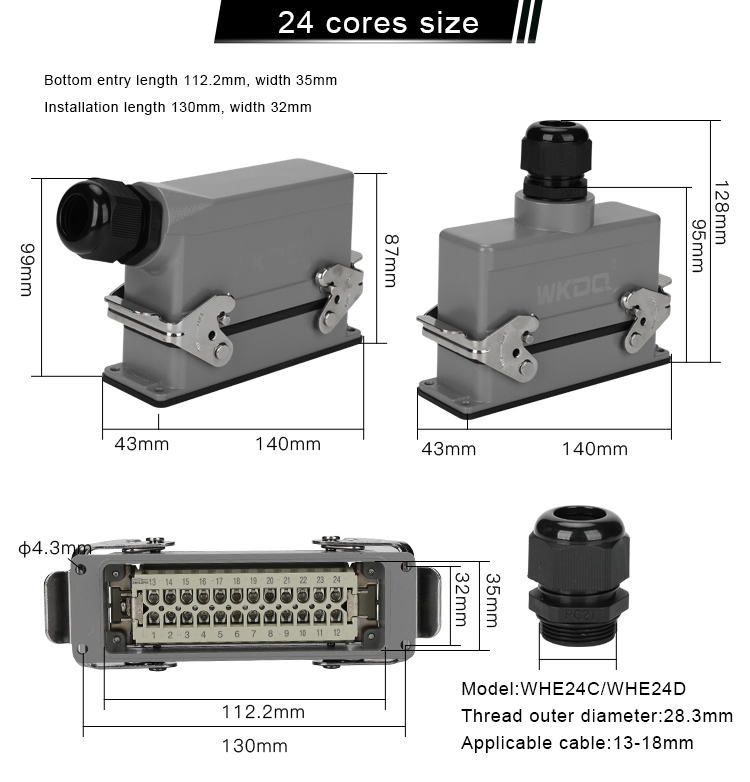 Heavy Duty Connector