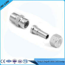 1/2 inch stainless steel pipe fitting with O ring