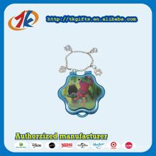 Fashion Plastic Flower Shape Box with Bracelet Toys