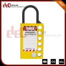 Elecpopular Últimos productos en mercado Bloqueo de aluminio Hasp Dispositivos de bloqueo eléctrico con etiqueta