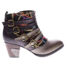 Go West High Quality Leder Stiefeletten für Frauen