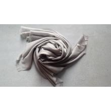 Chal de espiga de lana mercerizada de alta calidad