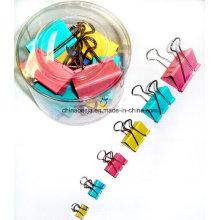 Fabricant de pinces pour reliures, noir Binder Clips, Clips liant coloré en Chine