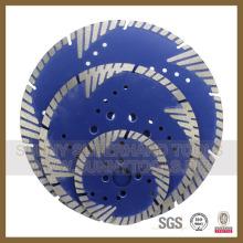 Diamond Disc Cut Diamètre du béton armé. 230mm