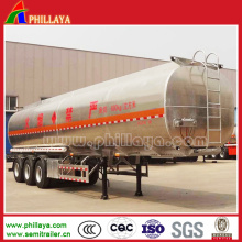 Stainless Steel Fuel Tank Semi Trailer with Volume Opptional