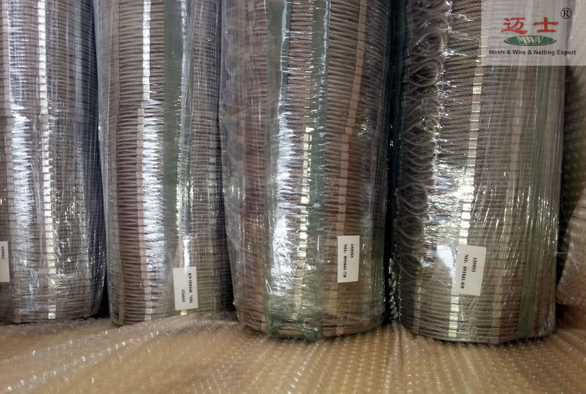 stainless steel wire cable mesh