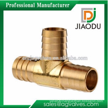 high quality 5/8 or 7/8 inch forged brass fittings mechanical tee