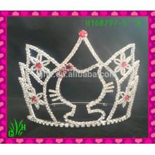 Großhandel Die neuesten Schmuck Tiara Krone, Hochzeit Tiara Krone gefrorene Tiara