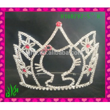 Venda por atacado A mais recente jóia tiara coroa, tiara de casamento coroa tiara congelada