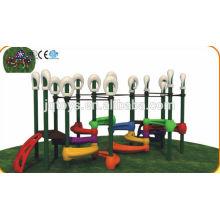 JQC1281 Juegos infantiles de plástico / tobogán combinado niños / parque de atracciones