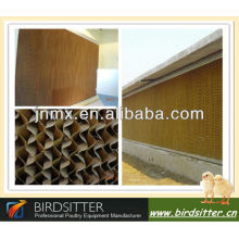 automatic evaporative cooling pad in poultry house/farm