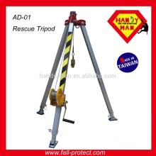 Tritão de segurança no local de trabalho Fall Protect Rescue