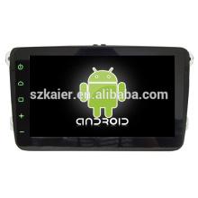 Usine directe plate-forme android système multimédia central de voiture pour VW Magotan / Sagitar avec GPS / Bluetooth / TV / 3G / WIFI