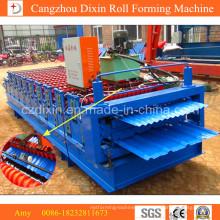 Doppelschicht-Well- und Dachblech-Rollformmaschine