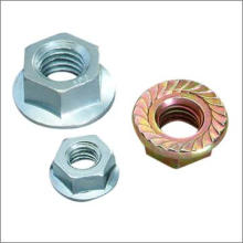Stainless Steel Hex Flange Nut DIN 6923