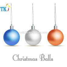 Pigment powder for plastic Christmas balls
