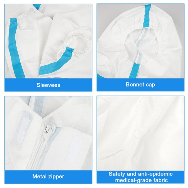disposable nonwoven coverall sterile