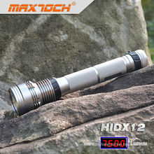 Maxtoch HIDX12 Rechargeable Hid Flashlight 85w 18650 Li-ion Pack