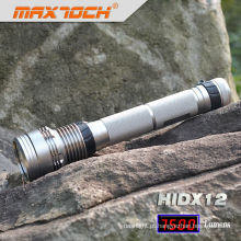 Maxtoch HIDX12 recarregável escondeu lanterna 85w 18650 Ion