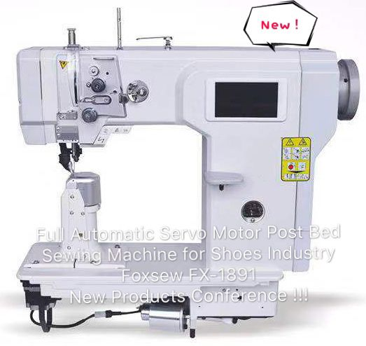 Fully Automatic Post Bed Sewing Machine With Servo Motor Strcture FOXSEW FX1891