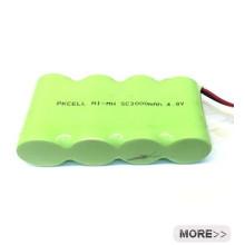 NI-MH 4.8V AAsize 2000mAh Batería LR03 baterías alcalinas AAA 1.5v baterías
