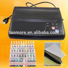 Tatuagem preto quente transferência copiadora impressora máquina fabricante de papel térmico estêncil
