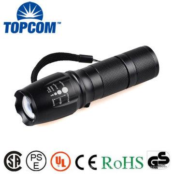 LED Military Tactical Zoom Taschenlampe mit wiederaufladbare Ladegerät X800