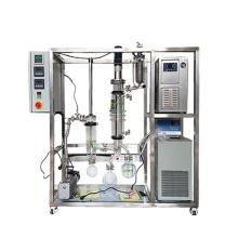 QIYU Wiped Film glass molecular distillation technology unit