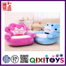 ICTI Factory Stuffed Plush Baby Sitting Chair Plush Animal Sofa Chair Folding Chair Sofa Bed