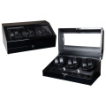 Triple Rotors Watch Winder Dengan Lampu LED
