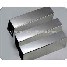 Tubo quadrado sem costura de liga de alumínio 2024
